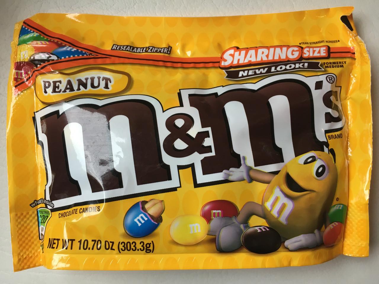 Конфеты M&M`s с арахисом