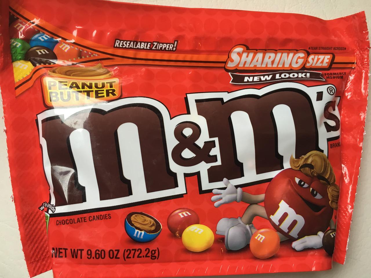 Конфеты  M&M`s  c арахисовым маслом