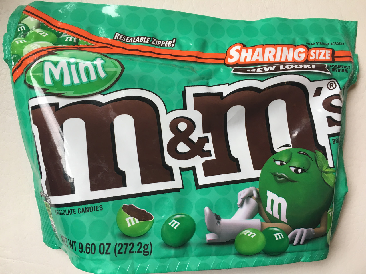 M&M`s мятные с черным шоколадом