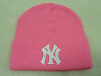 Шапка NY розовая (пластик)