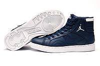 Кроссовки Найк Air Jordan женские, темно-синие, р. 36 38 39 41