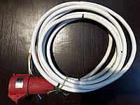 Аренда кабеля ПВС 5х4, длиной 7,5м с розеткой ССИ-225 32A к электрической пушке