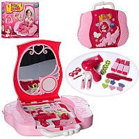Детское трюмо-чемодан с проэктором и слайдами для девочек