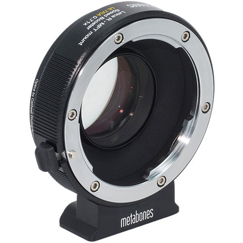 Metabones Ultra 0.71x Adapter for Leica R-Mount Lens to Micro Four Thirds-Mount Camera (MB_SPLR-M43-BM3)