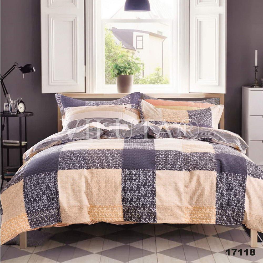 17118 Полуторное постельное белье ранфорс Viluta
