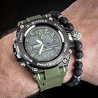 Мужские спортивные часы Casio G-Shock G-Steel Green