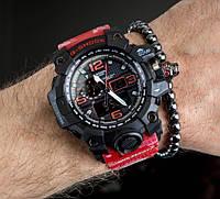 Мужские спортивные часы Casio G-Shock GWG-1000 RED копия, фото 1