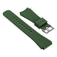 Силиконовый ремешок для Samsung Gear S3 Classic SM-R770 / Frontier RM-760 - Army Green