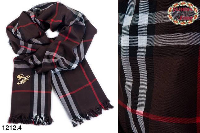Кашемировый стильный  шарф Burberry, фото 2