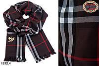Кашемировый стильный  шарф Burberry (реплика)
