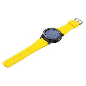 Силіконовий ремінець Primo для годин Samsung Gear S3 Classic SM-R770 / Frontier RM-760 - Yellow