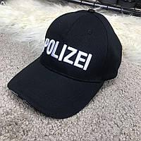 Кепка Baseball Hat Vetements Polizei Black