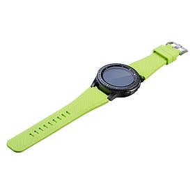 Силіконовий ремінець Primo для годин Samsung Gear S3 Classic SM-R770 / Frontier RM-760 - Light Green