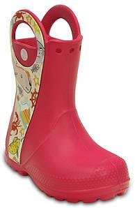 Сапожки Crocs Handle it rain boot kids C13