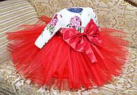 Платья для девочек нарядные красные