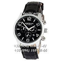 Наручные часы Montblanc TimeWalker Automatic Black-Silver-Black реплика