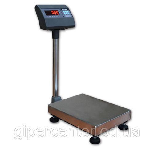 Весы товарные электронные ВЭСТ-30Т6 до 30 кг, точность 10 г