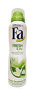 Антиперспирант аэрозоль Fa Fresh & Dry Аромат Зеленого Чая - 150 мл.