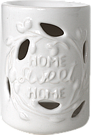 "Аромалампа из керамики Украинского производства ""Sweet Home"" белый"