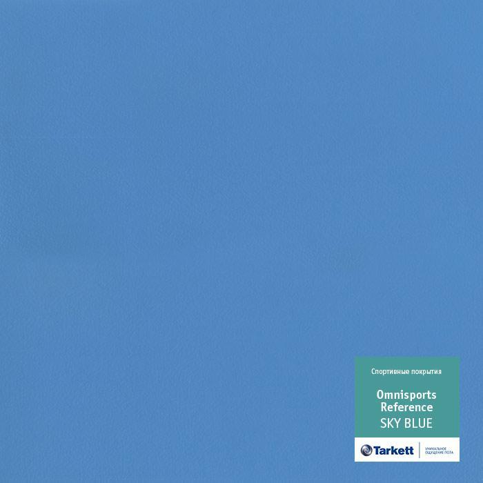 Линолеум для спортивных залов Tarkett Omnisport V65 SKY BLUE