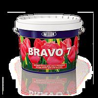 Матовая латексная краска для стен и потолков Bravo 7. 2.5л