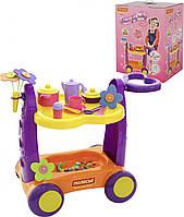 Игровой комплекс Сервировочный столик /в коробке/ Polesie 4960