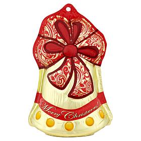 Колокольчик шоколадный (игрушка на елку) Figaro Чехия 40 г