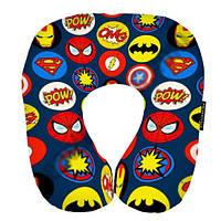 Декоративная стильная Подушка для путешествий Супергерои 16J010