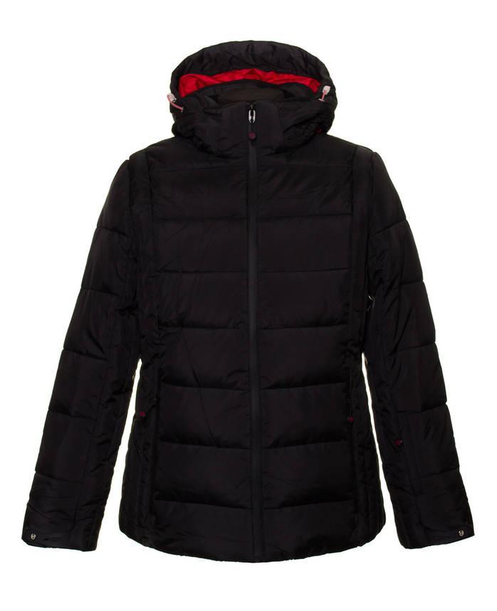Куртка женская 7749289B black 58, фото 2