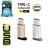 Переходник Remax RA-USB1 с Micro USB на Type-C, фото 2