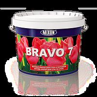 Матовая латексная краска для стен и потолков Bravo 7. 5л