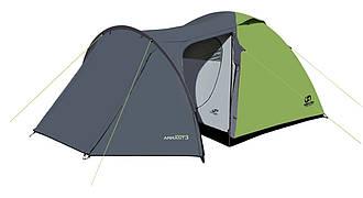 Палатка туристическая Hannah Arrant 3 spring green-cloudy gray