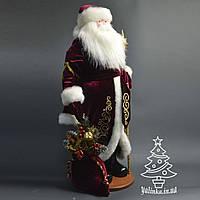 Дед Мороз под елку 72 см красный 0553