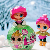 Коллекционная Игрушка Кукла Мини LOL S2 Surprise Сюрприз в Шарике Куколка Сестричка ЛОЛ для Девочек