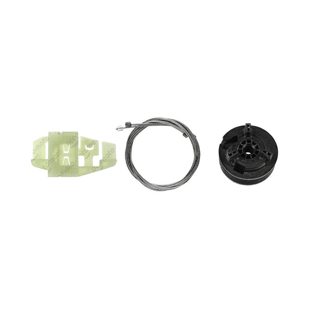 Ремкомплект механизма стеклоподъемника задней левой двери Citroen C3 2002-2010