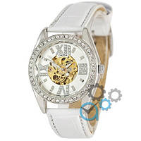 Часы Omega Diamonds White-Silver