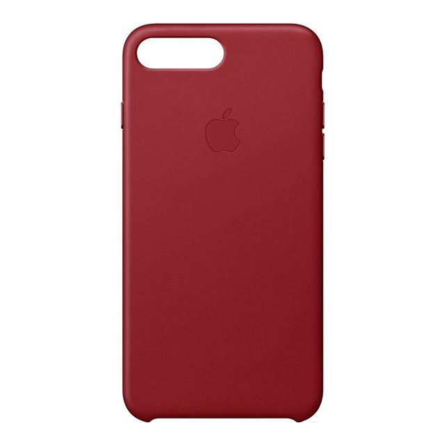 Чехол Apple кожаный для iPhone 8+/7+ Red (MQHN2ZM/A)