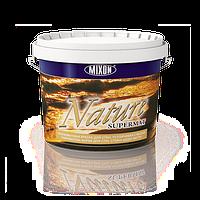 Глубокоматовая латексная краска для стен и потолков Nature Supermat. 2,5л