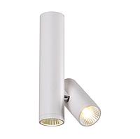 Потолочный светильник LED POWERLUX 2х5W 3000K white