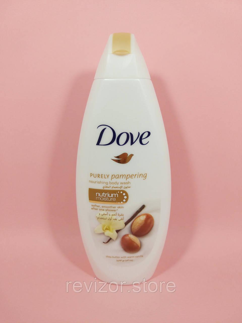 Dove - Гель для душа Масло Ши и Пряная Ваниль 250мл