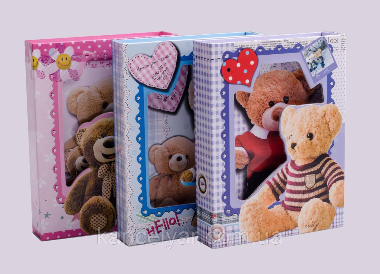 Блокнот дитячий на коробці на замочку, 54 листа, А6, в асортименті