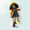 Кукла амигуруми Даша и Ричи