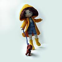 Кукла амигуруми Даша и Ричи, фото 1