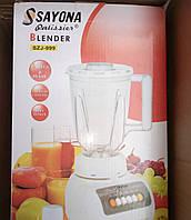 Блендер + кофемолка SAYONA SZJ-999 2 в 1, 4 скорости