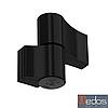 Петля дверная GU 67 мм для алюминия (черная) RAL 9005
