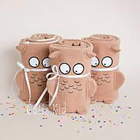 "Флисовый плед ""Brown Owl"", фото 1"