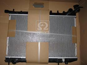 Радиатор охлаждения NISSAN ALMERA (N15) (95-) 1.6 i 16V (производство Nissens) (арт. 62974), AGHZX