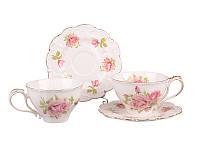 Чайный набор Lefard Розы 4 предмета, 127-577