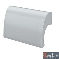 Ручка-ракушка Medos DE LUXE серебро (Польша)