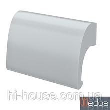 Ручка балконная DE LUXE серебро (RAL 9006) (Польша)